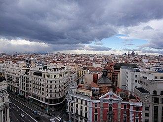 Justicia (Madrid) - Image: Vistas desde el CBA (23992778196)