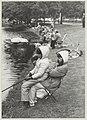 Viswedstrijd - georganiseerd door het Haarlems Dagblad - aande Jan Gijzenvaart tussden de Jeugdherberg en de Jan Gijzenbrug. NL-HlmNHA 54013119.JPG