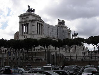 Vittoriano from near Trajan's Column.jpg