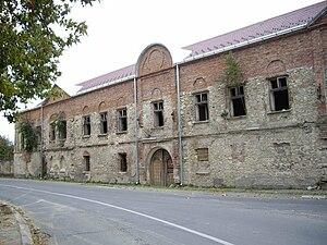 Eparchy of Slavonia - Image: Vladičanski dvor u Pakracu