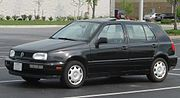 VW Golf Mk3 North American version