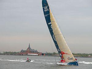 2005–06 Volvo Ocean Race - Brunel finishing the New York leg