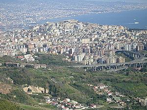 Vomero - Panorama of Vomero.