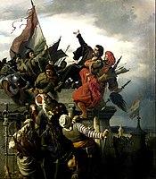 Wágner, Sándor - The Self- Sacrifice of Titusz Dugovics - Google Art Project.jpg