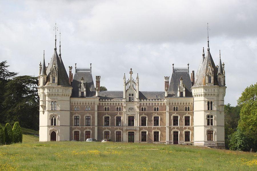 Château, Fr-49-Chanzeaux.