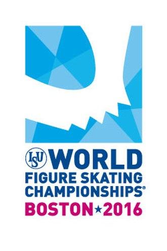 2016 World Figure Skating Championships - Image: WFSC 2016 Logo PMS outline