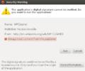 WPCleaner - Installation Ubuntu Desktop 12.04 OpenJDK6 - Digital Signature (en).png