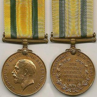 Territorial War Medal