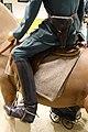 WW2 German Army Wehrmacht Heer Officier Riding breeches boot Pistol Holster Tunic Waffenrock Saddle Arquebus krigshistorisk museum War History Tysvær Norway 2020-06 08544.jpg