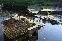 Wageningen old city ruins.JPG