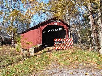 Waggoner Covered Bridge - Waggoner Covered Bridge, October 2010