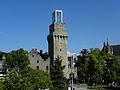 Waidhofen an der Ybbs - Turm des Rothschild-Schlosses mit aufgesetztem Kubus.jpg