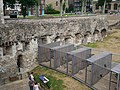 Wall of the Inmost Ward and Raven Cages at the Tower of London.jpg
