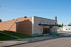 National Register of Historic Places listings in Pembina County, North Dakota - Image: Walla Theater, Walhalla, North Dakota