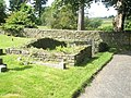 Walled area within the churchyard at St James, Shipton - geograph.org.uk - 1446564.jpg