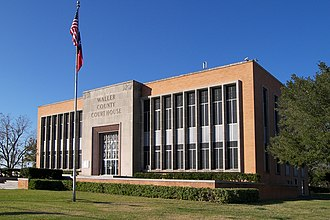 Waller County, Texas - Image: Waller county courthouse