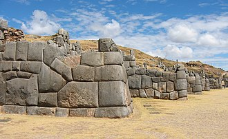 Inca architecture - Ashlar polygonal masonry at Sacsayhuamán