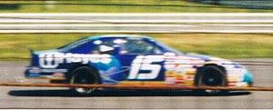 Wally Dallenbach Jr. - Dallenbach's 1996 Winston Cup car at Pocono Raceway
