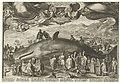Walvis, op 13 januari 1601 aangespoeld bij Beverwijk, RP-P-OB-76.969.jpg