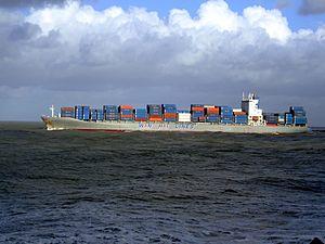 Wan Hai 503 - IMO 9294862 p1, leaving Port of Rotterdam, Holland 21-Jan-2007.jpg