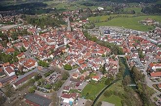 Wangen im Allgäu - Image: Wangen i a air 16