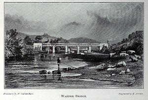 Warden Railway Bridge - The old Warden Railway Bridge