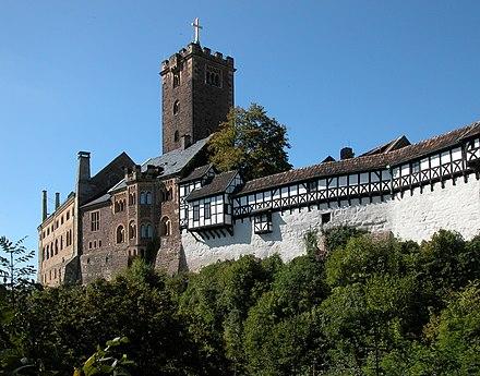 Wartburg Castle, Eisenach