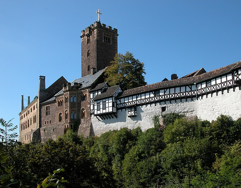 Wartburg in Eisennach