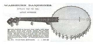 Washburn Guitars - Washburn Banjorine (1892).