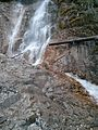 Waterfall near Crown Lake - panoramio.jpg