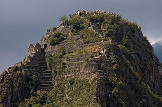 Huayna Picchu - The peak of the mountain