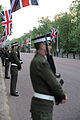 Wedding of Prince William of Wales and Kate Middleton rehersal military 2.jpg