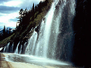 Weeping Wall (Montana) - Weeping Wall
