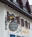 Weilheim an der Teck. Hotel Gaststätte zur Post, Marktpl. 12, 73235 (Nationales Denkmal) 02.jpg