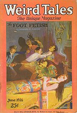 Weird Tales cover image for June 1926