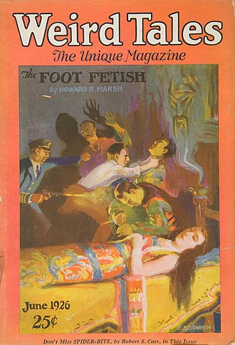 The Moon-Bog - June 1926 cover