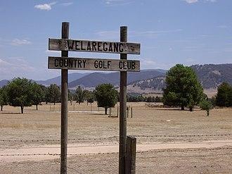 Welaregang, New South Wales - Welaregang Country Golf Club