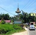 Welcome gate to Kabanjahe, Karo 02.jpg