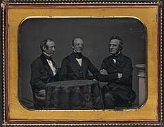 Wendell Phillips, William Lloyd Garrison and George Thompson 1851.jpg