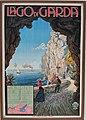 Werbeplakat Gardasee 1904 mit Fahrplan Schiffsabfahrten — Ferdinandeum.jpg