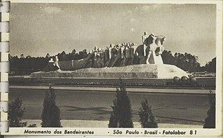 Monumento dos Bandeirantes - São Paulo - Brasil