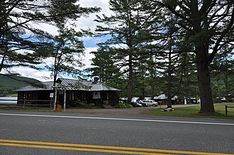 National Register of Historic Places listings in Orange County, Vermont - Image: West Fairlee VT Aloha Hive Camp 1