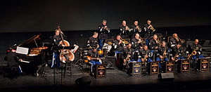 Jazz band - The West Point Band's Jazz Knights perform in West Point's Eisenhower Hall (2011)
