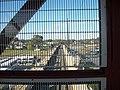 West View from Bay Shore LIRR Pedestrian Bridge.JPG