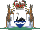 Coat of Arms of  Australia Barat