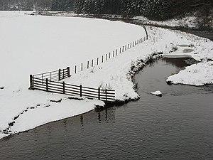 Whiteadder Water - Image: Whiteadder Water geograph.org.uk 334517