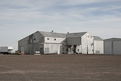 A cotton gin in Hockley County