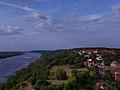 Widok z wieży Klimek, Grudziądz, Zamek krzyżacki w Grudziądzu.jpg
