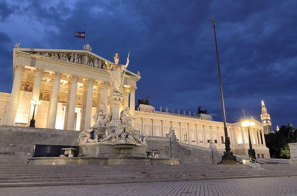 Wien Parlament 03