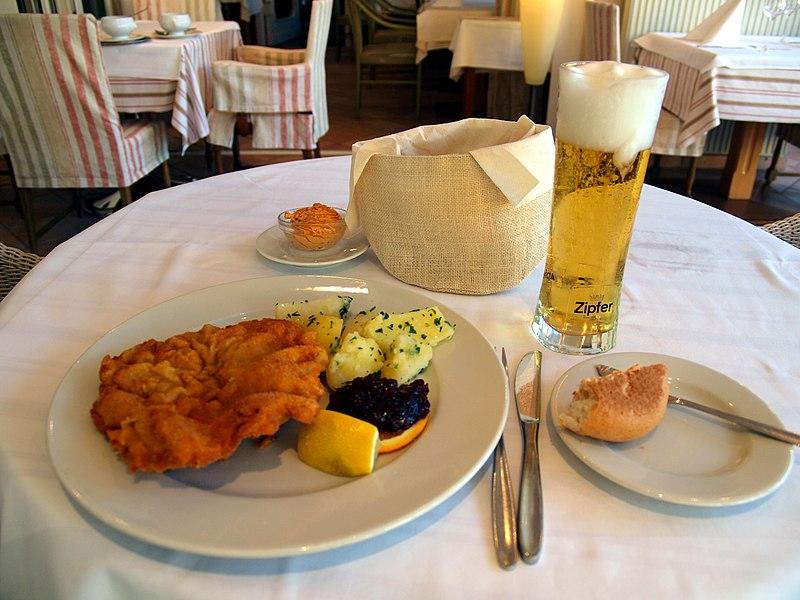 Weiner Schnitzel. From an eating tour of Austria